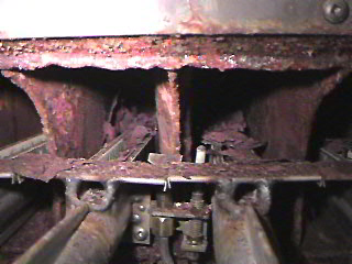 Badly Rusted Heat Exchanger